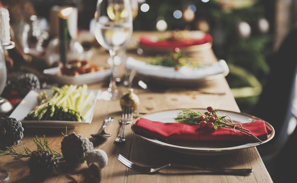 cuidar alimentación en Navidad